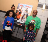 "Jermaine Dupri with daughters Jalynn, friend Taryn and daughter Shaniah attend a""Daddy's Home"" screening in Atlanta"