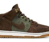 Nike Dunk CMFT Sneakerboot Brown/Olive