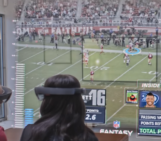 Here's What Watching The Super Bowl With Microsoft's HoloLens Could Look Like