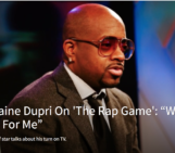 @JermaineDupri talks about his turn on TV with 'The Rap Game':