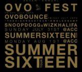 Drake Announces OVO Fest 2016 Lineup