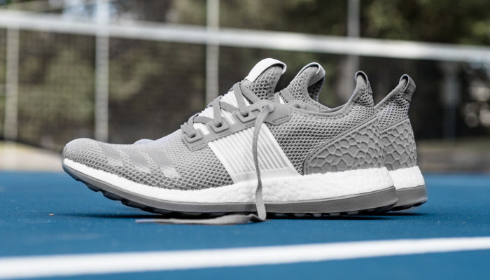 adidas Pure BOOST ZG in Light Grey