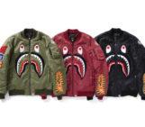 BAPE MA-1 Jackets