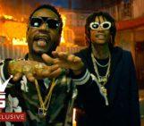 Wiz Khalifa, Juicy J & TM88 – Cell Ready