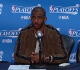 Chris Paul Reacts To A Reporter For Asking Game 7 Question