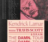 Kendrick Lamar The DAMN Tour Dates