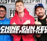 Machine Gun Kelly Freestyle With The LA Leakers