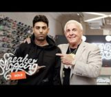 Ric Flair Goes Sneaker Shopping With Complex